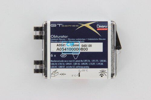 MAILLEFER SYSTEM GTX OBTURATORS 25mm .08 NR.40 ZWART (6st)