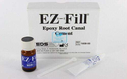 EDS EZ-FILL XPRESS EPOXY ROOT CANAL CEMENT POWDER/LIQUID KIT (7,5gr gel/8 gr powder)