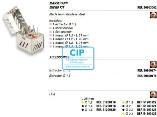 MICROMEGA MASSERAN MICROKIT NR.50903002