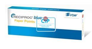 VDW RECIPROC BLUE PAPER POINTS ASSORTIMENT (180st)