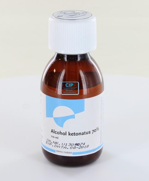CHEMPROPACK ALCOHOL KETONATUS 70% (110ml)