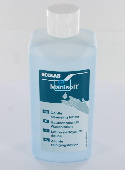 ECOLAB MANISOFT WASLOTION ZEEPVRIJ (500ml)