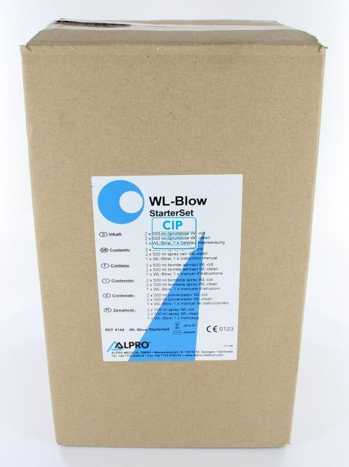 ALPRO STARTERSET WL-BLOW (2x WL-CLEAN 500ml/2x WL-CID 500ml/1x WL-BLOW)