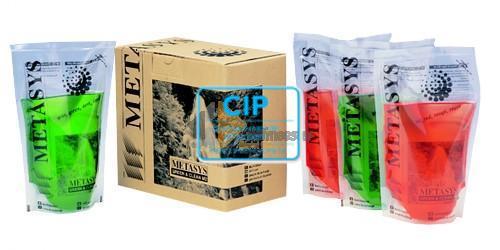 METASYS GREEN&CLEAN M2 REINIGINGSVLOEISTOF (4x500ml)