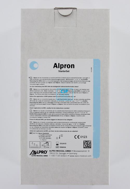 ALPRO ALPRON ANTI-ALGEN REINIGINGSMIDDEL STARTERSET MINT (Alpron mint/sodium-hypochlorite/BRS remover/BRS activator)