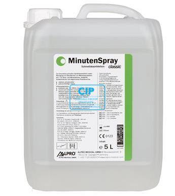 ALPRO MINUTENSPRAY CLASSIC OPPERVLAKTE DESINFECTIE 5LTR