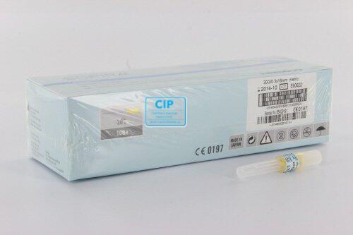 KULZER SOPIRA CARPULE INJECTIENAALDEN 30G/0,3x16mm GROEN (100st)