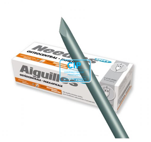 AIGUILLES QUICKSLEEPER NAALDEN 30G/16mm WIT (100st)