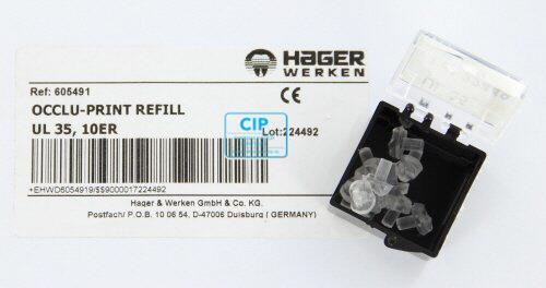 HAGER&WERKEN OCCLU-PRINT REFILL NR.35 (10st)