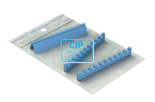 NICHROMINOX INSTRUMENTEN TRAY EASY CLIP-10 SILICONE REFILLS ZWART (3st) 182960-9