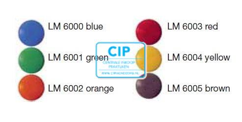 LM CODE BUTTONS GEEL (20st)