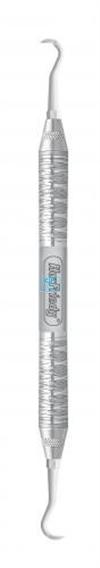 HU-FRIEDY PLASTIC IMPLANTAAT-INSTRUMENT H6/H7 MET 12 TIPS & 1 HANDLE #6