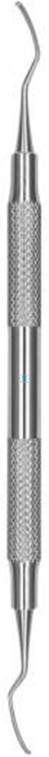 HU-FRIEDY CURETTE QUETIN 2 BUCCAL LINGUAL 1,3mm SATIN STEEL NR.SQBL26