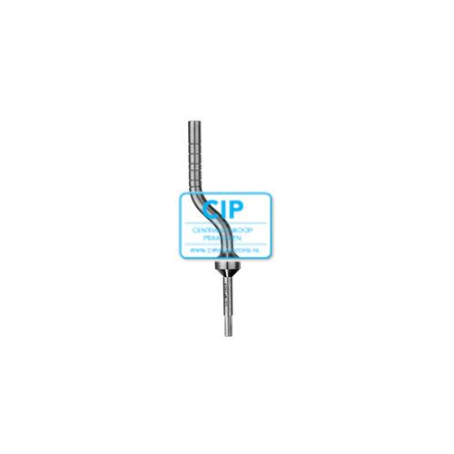 HU-FRIEDY OSTEOTOME BONE PUSHER ANGULATED 4,2mm NR.OSTMPU42A