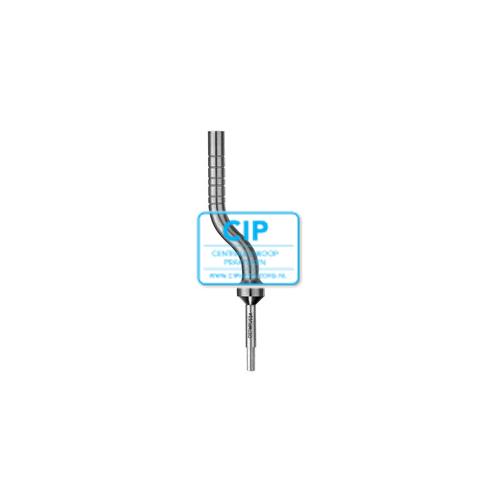 HU-FRIEDY OSTEOTOME BONE PUSHER ANGULATED 5,0mm NR.OSTMPU50A