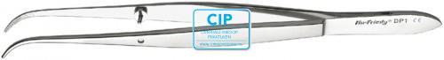 HU-FRIEDY PINCET PERRY GEBOGEN GERIBBELD NR.DP1 (12,5cm)
