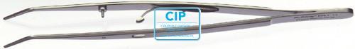 HU-FRIEDY ENDODONTISCH PINCET GEBOGEN GERIBBELD MET SLOT NR.EPL1 (16,5cm)