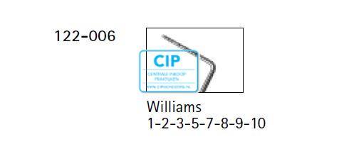 FHS SILVERLINE WILLIAMS POCKETSONDE NR. 122-006