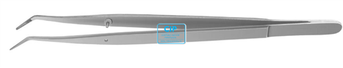 HU-FRIEDY COLLEGE PINCET GEBOGEN GERIBBELD NR.DP3 (16cm)