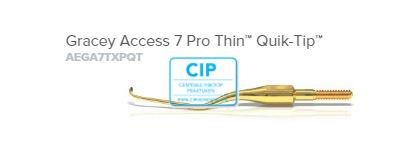 AMERICAN EAGLE GRACEY CURETTE ACCESS PRO THIN QUICK TIP XP NR.7 NR.AEGA7TXPQT