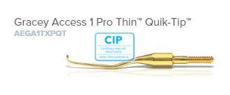 AMERICAN EAGLE GRACEY CURETTE ACCESS PRO THIN QUICK TIP XP NR.1 NR.AEGA1TXPQT