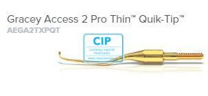 AMERICAN EAGLE GRACEY CURETTE ACCESS PRO THIN QUICK TIP XP NR.2 NR.AEGA2TXPQT