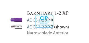 AMERICAN EAGLE BARNHART CURETTE XP 1/2 PAARSE HANDLE NR.CB1/2XPX