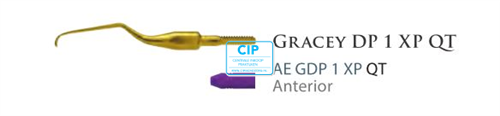 AMERICAN EAGLE GRACEY CURETTE DEEP POCKET QUICK TIP XP NR.1 NR.AEGDP1XPQT