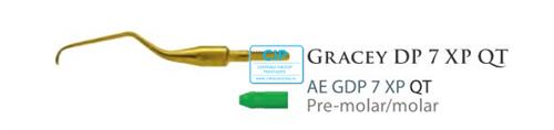 AMERICAN EAGLE GRACEY CURETTE DEEP POCKET QUICK TIP XP NR.7 NR.AEGDP7XPQT