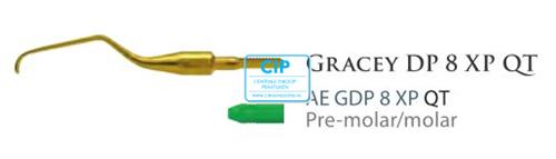 AMERICAN EAGLE GRACEY CURETTE DEEP POCKET QUICK TIP XP NR.8 NR.AEGDP8XPQT