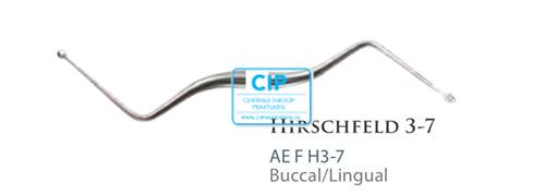 AMERICAN EAGLE HIRSCHFELD FILE 3-7 BUCCAL/LINGUAL NR.AEFH3-7