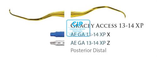 AMERICAN EAGLE GRACEY CURETTE ACCESS XP 13/14 BLAUWE HANDLE NR.AEGA13/14XPX
