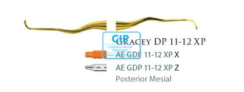 AMERICAN EAGLE GRACEY CURETTE DEEP POCKET XP 11/12 ORANJE HANDLE NR.GDP11/12XPX