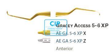 AMERICAN EAGLE GRACEY CURETTE ACCESS XP 5/6 GELE HANDLE  NR.AEGA5/6XPX
