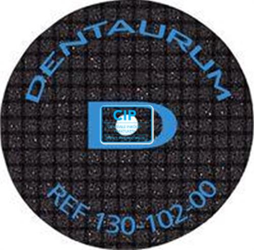 DENTAURUM SUPERCUT ST SEPARATIESCHIJVEN 0,5m NR.130-102-00 (10st)