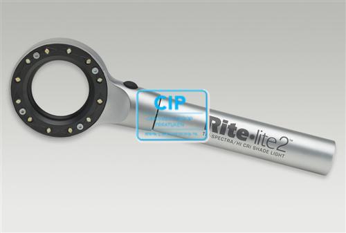ADDENT RITE LITE-2 LED KLEURBEPALER MET 12 LEDS (INCL. 1 NEUTRAAL COLOR PAD MET 25 SHEETS)