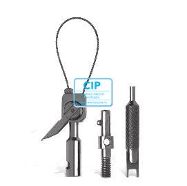 KKD LOOP-TIP SET (SINGLE LOOP TIP, ADAPTER, SLEUTEL, RESERVE DRAAD)