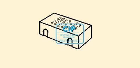 BAISCH LADENINSERT BORENSTANDAARD 10-GATS RA789364
