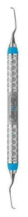 HU-FRIEDY CURETTE 11/12 GRACEY MINI-FIVE EVEREDGE 2.0 BLAUW MESIAL RIGID NR.SAS11/12R9E2
