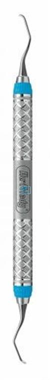 HU-FRIEDY CURETTE 15/16 GRACEY MINI-FIVE EVEREDGE 2.0 BLAUW MESIAL RIGID NR.SAS15/16R9E2