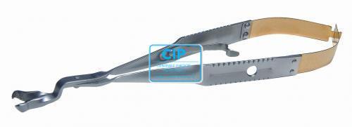 LASCHAL ENDOVIJLHOUDER MET SLOT 90° N/S PCF-N-90AHF/L-Ti