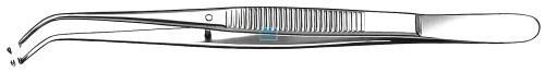 CARL MARTIN CHIRURGISCH PINCET SEMKEN GEBOGEN GLAD NR.799 (12,5cm)