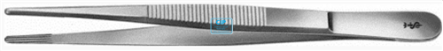 AESCULAP OCHSNER PINCET RECHT GERIBBELD BD-130R (14,5cm)