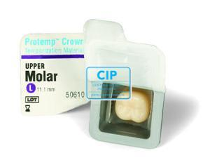 3M ESPE PROTEMP CROWN REFILL MOLAR UPPER LARGE (5st)