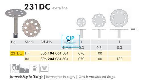 MEISINGER DIAMANT ZAAG 231DC RA070 (1st)