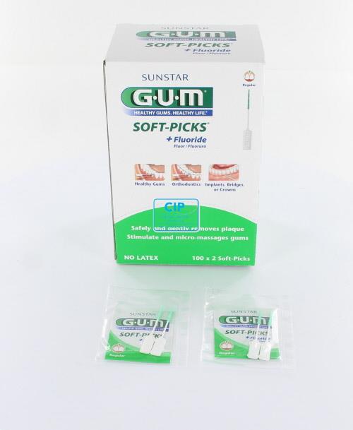 BUTLER GUM SOFTPICKS REGULAR (100x2st)