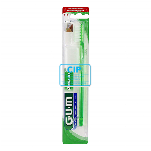 BUTLER GUM CLASSIC TANDENBORSTELS NR.311 SLENDER SOFT (96st)