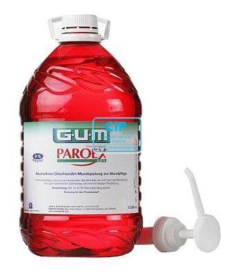 BUTLER GUM PARO-EX MONDSPOELMIDDEL CHLOORHEXIDINE MET DOSEERPOMP (5ltr)