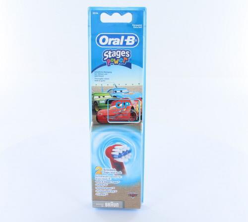 ORAL-B OPZETBORSTELS FOR KIDS CARS EB10K (2st)