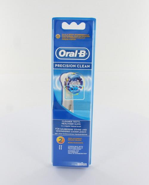 ORAL-B OPZETBORSTELS PRECISION CLEAN EB20-2 (2st)